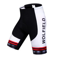 Wholesale WOSAWE New Breathable Men Cycling Shorts Tights Riding Bicycle Bike Ropa Ciclismo D Padded Shorts Fitness