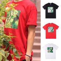 Wholesale Face T Shirt - Box Logo Venus Face TEE Collaboration Tee Hip Hop Skateboard T-shirt Men Women Cotton Casual TShirt