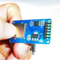 Wholesale Arduino Sd Reader - Free Shipping 10 PCS Micro SD card mini TF card reader module SPI interfaces with level converter chip for Arduino Wholesale
