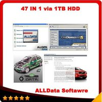 2016 software di riparazione alldata alldata 10.53 e mitchell ondemand 2015 Software ATSG + vivid workshop + ELSAwin + heavy truck 1tb hdd 47in1
