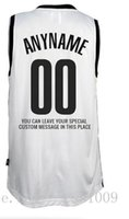 Customize Brooklyn Basketball Jersey 2017 neue Saison Home Road Alternative Jersey Günstige Custom White Pride Schwarz Trikots -Männer Frauen Jugend