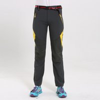 Wholesale Powered Ultralight - Outdoor Hiking Camping Pants Women Summer Outdoor Hiking Climbing Ultralight Trouser Patchwork Breathable Outdoor Pants Sport Hiking Pants