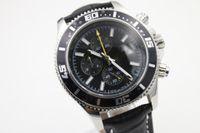 Wholesale Military Royale Watches - Fashion Barnd Quartz Watch Men Leather Belt Black Dial Watch Free Ship