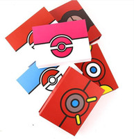 Wholesale Anime Badges - 6style Children gift box Poke Metal Badge Brooch Poke Zinic Alloy Brooch Poke Action Figures Anime toys 2.5-3.3cm 8pcs set