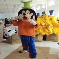 Wholesale New Pluto Mascot Costume - 2017 Hot new plush Goofy and Pluto dog mascot costumes role playing cartoon
