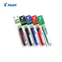 pacote de recarga venda por atacado-Atacado-Piloto Gel Bola FriXion Multi Caneta Recarga - 0,5 mm 6 recargas / lote (2 Pacotes) Preto / Vermelho / Azul / Verde LFBTRF-30EF