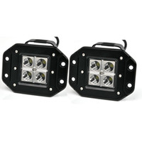 Wholesale Dc Led Flood - 2 pieces High Quality 3 inch 4x3w 12v 24v DC Jeep Pickup offroad LED Pod Light