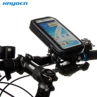 Wholesale Galaxy Note Bike Holder - WaterProof Bike Bicycle Handlebar Mount Holder Case For iPhone 6 6s 6 Plus 5 5s Bag for Samsung Galaxy S6 S4 S5 S6 Edge Note 3 4