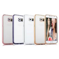 Wholesale Samsunggalaxy Cases - Case For SamsungGalaxy S6  S6Edge  S6 Edge plus  S7  S7 edge Ultra-thin Soft TPU Electroplate Case 100pcs u