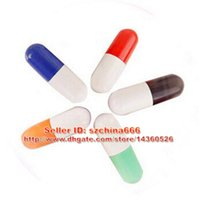 Wholesale Capsule Pens - Plastic capsule pill cartoon doctors pills USB flash drive pen drive usb 2.0 medicine memory stick pendrives 1GB-16GB