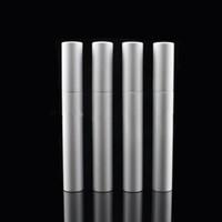 Wholesale Cute Mascara - silver 5ml lip gloss tubes cosmetic liquid eyeliner bottle Mascara eyelash growth liquid packing cute shape F20172308