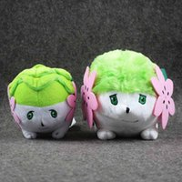 Wholesale Shaymin Plush - 2 Style 15cm 18cm Shaymin Pokem Pocket Monsters Pikachu Plush Toy Cartoon Plush Toys For Baby Gifts 060