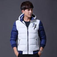 Wholesale Men Color Winter Type - Winter Men's Cotton Short Type Thicken Jacket Korean Youth Slim Down Cotton Men Coats Jackets