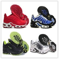 Wholesale 3m Reflective Shoe Laces - 2017 Plus TN Ultra 3M Reflective Women Men Runing Shoes Gold Black White Red Maxes Tn Runner Sneaker Size Eur 40-46