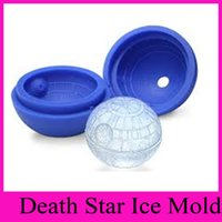 Wholesale 100pcs Star War health Silicone Sphere Ice Cream Mold Ball Cooking Baking Pastry Tool Kitchen Gadget Accessories Supplies