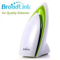 Wholesale Remote Tested - Broadlink A1 Intelligent monitor the environment Smart Air Quatily Detector Testing Air Smart phone wireless remote by WIFI Free Shipping