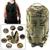 Wholesale Red Camouflage Military - 2016 Men Women Outdoor Military Army Tactical Backpack Trekking Sport Travel Rucksacks Camping Hiking Trekking Camouflage Bag