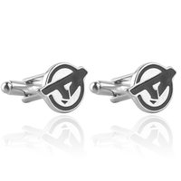 Wholesale superhero Avengers Sign Cufflink Cuff Links for men shirts dress suit Cuff links jewelry Christmas gift