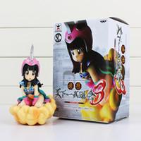 Wholesale Dragon Ball Chichi - Anime Dragon Ball Z Chichi Figure Zoukei Tenkaichi Budoukai 3 PVC Action Figure Collection Model Dolls Toys 14cm With Box