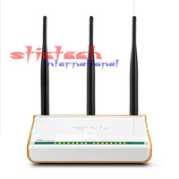 Wholesale Wireless Dsl - 50pcs 300Mbps DSL broadband N router, strong signal, 3 5dbi omni Antennas