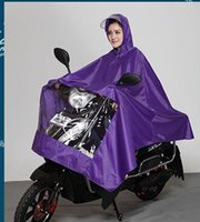 Wholesale Bicycle Rain Gear - Wholesale retail, individual poncho bicycle Motorcycler raincoat poncho rain gear With lens cover