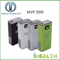 Wholesale Mvp Vv Box Mod - Innokin iTaste MVP 20W VV VW Mod with 2600mAh Battery Capacity Box Mod for Nautilus Atlantis 100% Original iStick 20W