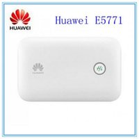 Wholesale routers sim card slot online - Original Unlocked Mbps HUAWEI E5771 G LTE WiFi Router With Sim Card Slot And mAh Power Bank Huawei E5771h