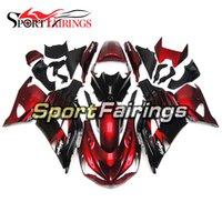 Wholesale Zx 14 Fairings Kit - Motorcycle Fairings For Kawasaki ZX14R ZX-14R ZZ-R1400 Year 12 13 14 2012 2013 2014 ABS Injection Full Fairing Kit Bodywork Red Black