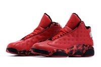 Wholesale Day Heating - 2016 High Quality Retro 13 XIII Ray Allen-Heat University Red Gym Red Men Basketball Sport Trainer Shoes Men's Sneakers Size 41-46