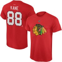 Wholesale Nhl Jersey Number - 2017 NHL Chicago Blackhawks Patrick Kane Chicago Blackhawks Name and Number Player T-Shirt for man women kid jersey