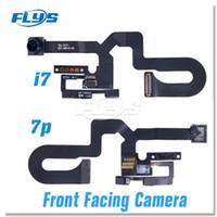 sensor de cara de iphone al por mayor-Cámara frontal de alta calidad Sensor de luz de proximidad Flex Ribbon Cable iPhon 7 7 Plus 4.7