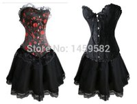 Großhandel-freie Instyles Plus Size Small To 6XL Sexy Korsett Kleid Baskes Rock Dessous 6930 + 066, 819 + 066, In Stockswalsonrockabilly