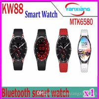 Wholesale Golden Maps - Post KW88 Smart Watch Phone Android Bluetooth Wifi Support Google Play GPS Map 1.39 inch Screen Smartwatch Clock 1 pcs YX-KW-88