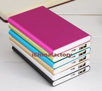 Wholesale Mobile Power Shell - Ultra thin slim Power Bank 8800mah Alloy Shell Power Bank Charger for mobile phone Tablet PC iPone Samsung Xiaomi Huawei