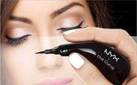 Wholesale Glitter Tips Wholesalers - NYX The Curve Eyeliner Liquid Eyeliner Pencil Felt Tip Liner Waterproof Professional innovative ergonomic shape 0.4ml