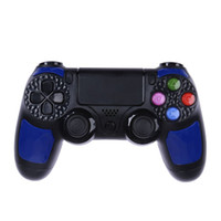 Wholesale multiple games online - Freeshipping For PS4 Game Controller Dual Vibration Axies Gamepad Multiple vibration motors Wired Gamepad for Sony Playstation