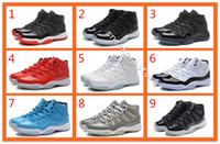 Wholesale Star Legend - 2016 cheap retro basketball shoes air retro 11 lows high legend blue bred gamma blue pantone 11s men women mens basketball shoes sneakers