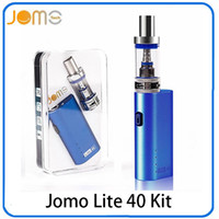 Wholesale e cig lite resale online - Jomo Lite w Jomo watt E cig Box Mod Lite w vapor mod kit ml Vaporizer