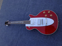 Wholesale Guitars Corvette - High quality Red Stave Guitar, Custom Shop 1960 Corvette Electric Guitar