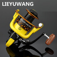 Wholesale Wholesale Aluminum Boats - Speed Ratio 5.2:1 Metal Spinning Fishings Reel HD1000-7000 Spinning Reels Ocean Sea Boat Ice Fishing tackle Aluminum FISHING 12 axis M935