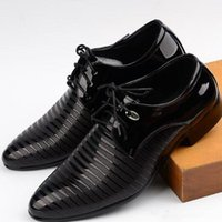 Wholesale ceremony suits men - Fall new men's fashion wedding ceremony shoes sell like hot cakes business suits leisure shoes