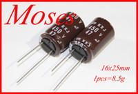 capacitor original venda por atacado-450 v 47uf 400 v 100% Original novo NIPPON CHEMI-CON NCC KXJ série Capacitor Capacitor Eletrolítico Radial 16x25mm (100 pcs)