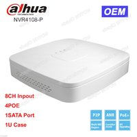 Wholesale Dahua Network Video Recorder - Dahua OEM NVR4108-P NVR 8CH Channel Smart Mini 1U 4 POE Network Video Recorder