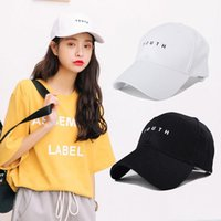 Wholesale Running Man Costume - Wholesale-Men Women Adjustable Sport Cotton Cap Hat Outdoor Running Flat Hat Decro High Quality 2 Colors