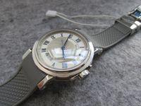 Wholesale Miyota Watches - 39MM AUTOMATIC 9015 MIYOTA HORLOGER DE LA MARINE 5012 5817ST 92 5V8 MEN WATCH SAPPHIRE CRYSTAL WRISTWATCH WATER RESISTANT RUBBER STRAP