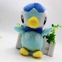 "Wholesale Wholesale Stuffed Animals For Babies - Hot Piplup 6.5"" 17cm Poke Pocket Monste Pikachu Plush Doll Stuffed Animals Toy For Baby Best Gifts 029"