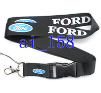 Wholesale Hot sale polyester customized FORD Car Logo Style lanyards key chains for mp5 cell phone