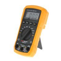 Wholesale Digital Display Counts - PM8233D 2000 Counts Professional Digital Electrical Handheld Tester LCD Autorange Display Multimeter Multimetro HYELEC H11404