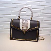 Wholesale Metal Freight - High quality leather handbag high quality leather handbag luxury brand caviar square striped bag metal chain shoulder bag free freight