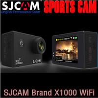 "Wholesale Underwater Camera Video Recorders - Original SJCAM X1000 WiFi 2.0"" LCD FHD 1080p 30FPS H.264 Action Helmet Sports DV Camera Video Recorder 30M Waterproof Underwater"